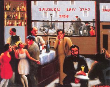Archibald J Jr Motley : Cafe Paris