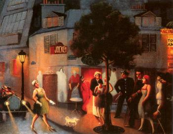 Archibald J Jr Motley : Jockey Club