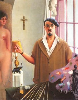 Archibald J Jr Motley : Self Portrait II