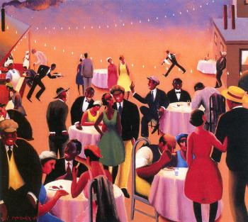 Archibald J Jr Motley : Barbecue