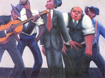 Archibald J Jr Motley : The Jazz Singers