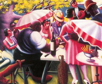 Archibald J Jr Motley : The Picnic
