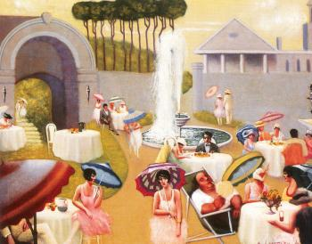 Archibald J Jr Motley : Lawn Party II