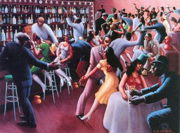 Archibald J Jr Motley : Nightlife