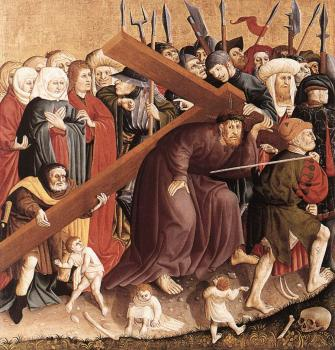 Hans Multscher : Christ Carrying the Cross