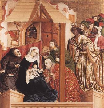 Hans Multscher : The Adoration of the Magi