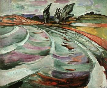Edvard Munch : The Wave
