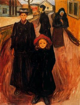 Edvard Munch : Four Ages in Life