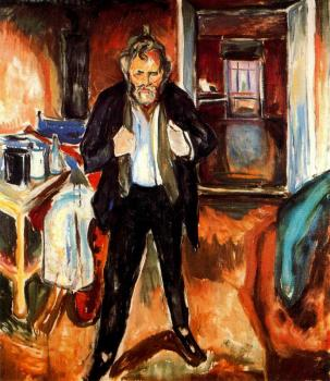 Edvard Munch : Self-Portrait (in distress)