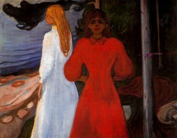 Edvard Munch : Red and White