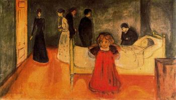 Edvard Munch : The Dead Mother and the Child