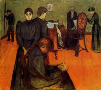 Edvard Munch : Death in the Sickroom