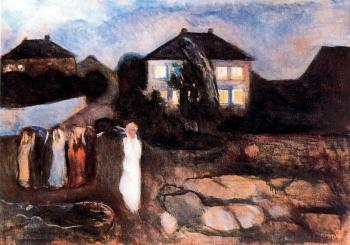 Edvard Munch : The Storm II