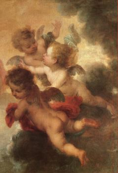 Bartolome Esteban Murillo : The Two Trinities
