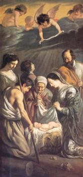 Le Nain Brothers : The Adoration of the Shepherds