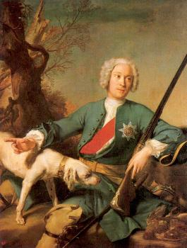 Jean Marc Nattier : Peter I  Peter the Grea