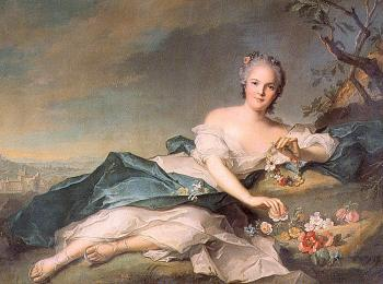 Jean Marc Nattier : Henrietta of France as Flora