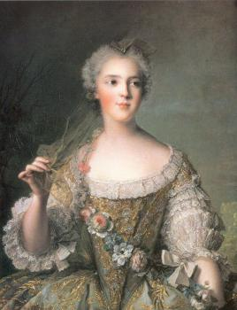Jean Marc Nattier : Portrait of Madame Sophie, Daughter of Louis XV