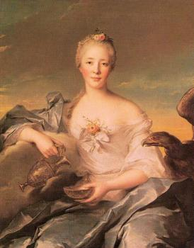 Jean Marc Nattier : Madame de Caumartin as Hebe