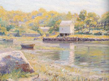 George Loftus Noyes : Lobster Cove, Annisquam
