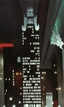 The Radiator Building at Night, New York