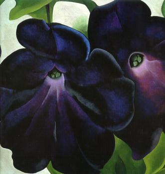 Georgia O Keeffe : Canvas painting VIII