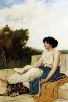 Oliver Rhys : A Seated Muse