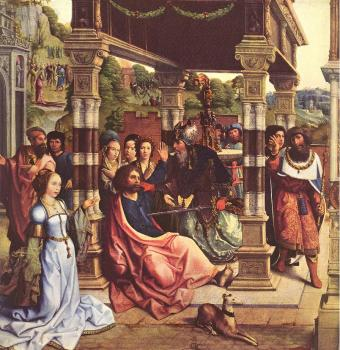 Bernaert Van Orley : Altarpiece of Sts Thomas and Matthias