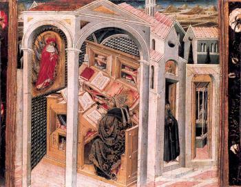 St. Jerome Appearing to St. Augustine