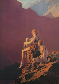 Maxfield Parrish : Contentment
