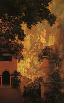 Maxfield Parrish : Sunrise