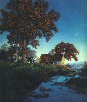 Maxfield Parrish : New Moon