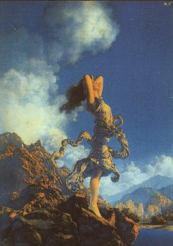 Maxfield Parrish : Ecstasy