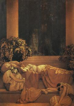 Maxfield Parrish : Sleeping Beauty