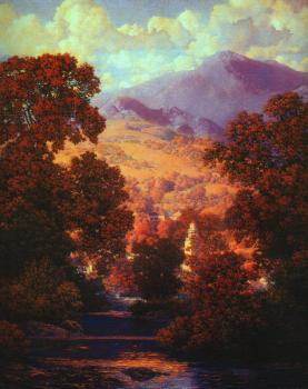 Maxfield Parrish : Sunlit Valley