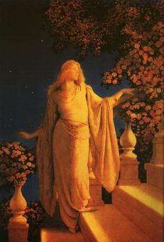 Maxfield Parrish : Enchantment Cinderella