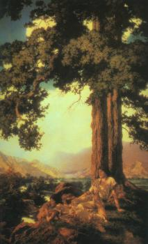 Maxfield Parrish : Hilltop