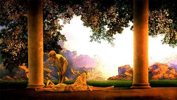 Maxfield Parrish : Daybreak