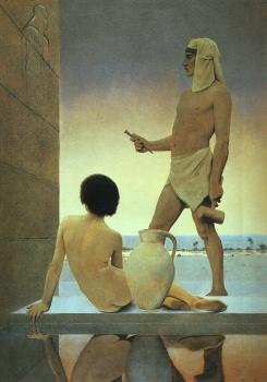 Maxfield Parrish : Egypt