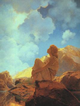 Maxfield Parrish : Morning  Spring