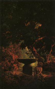 Maxfield Parrish : Reverie