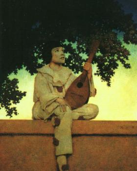 Maxfield Parrish : Her Window
