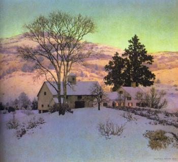Maxfield Parrish : Afterglow