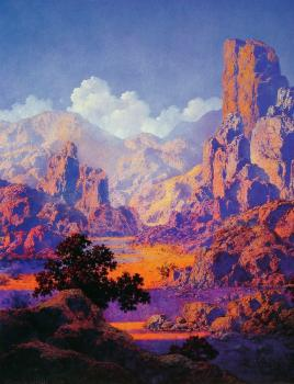 Maxfield Parrish : Arizona II