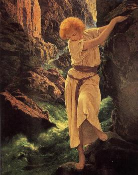 Maxfield Parrish : canyon