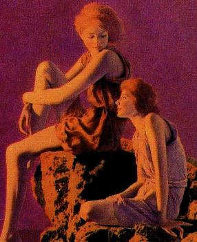 Maxfield Parrish : contentment II