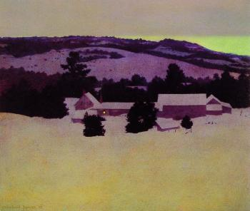 Maxfield Parrish : Daniels Farm