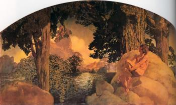 Maxfield Parrish : Dream Castle in the Sky