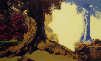Maxfield Parrish : Dreaming October