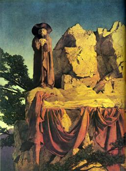 Maxfield Parrish : From the story of Snow White